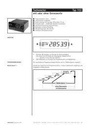 Hengstler 0722... - Schlaps GmbH