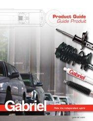 Product Guide Guide Produit - Gabriel