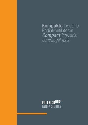 Katalog Kompakte Industrie-Radialventilatoren - Pollrich ...