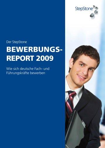 BEWERBUNGS- REPORT 2009