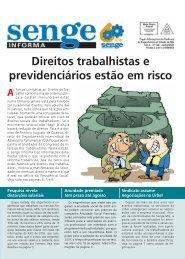 Direitos trabalhistas e previdenciários estão em risco - Senge-MG