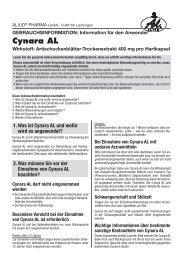 Cynara AL - Aliud Pharma GmbH & Co. KG
