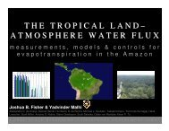 The Tropical Land Atmosphere Water Flux - Climatemodeling.org