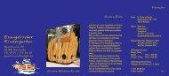 Faltblatt - Kindertageseinrichtungen der Evangelischen Kirche