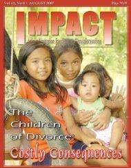 Vol 41, No 8 • AUGUST 2007 Vol 41 - IMPACT Magazine Online!