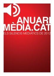 l'Anuari Mèdia.cat de silencis mediàtics - VilaWeb
