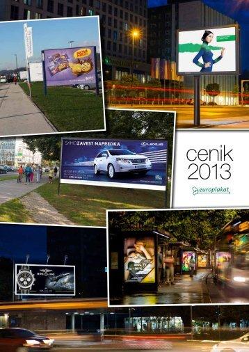 cenik 2013 - Europlakat