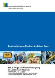 Regionalplanung für den Ländlichen Raum Neue Wege zur ...