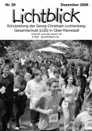 Gesamtschule - Georg-Christoph-Lichtenberg-Schule in Ober ...
