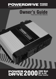 Owner's Guide - Truckers-Store