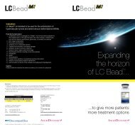 Expanding the horizon of LC Bead™... - Biocompatibles