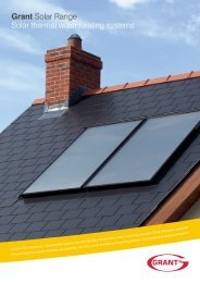 Grant UK Solar Range Brochure - October 2012