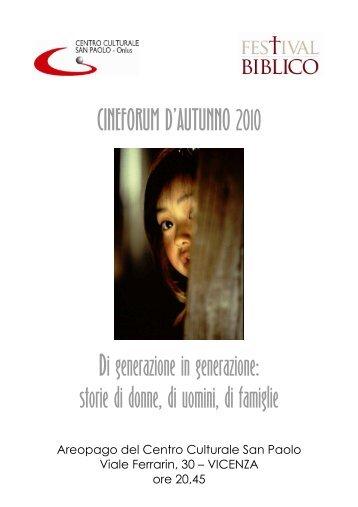 CINEFORUM SANPAOLO 2010 web - Festival Biblico