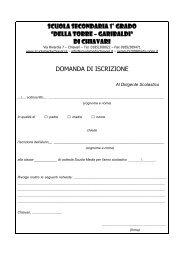Scuola Media Statale di Chiavari - Scuolamediachiavari.it