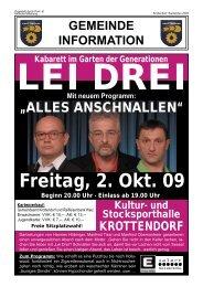 Gemeindeinformationsblatt - Gemeinde Krottendorf