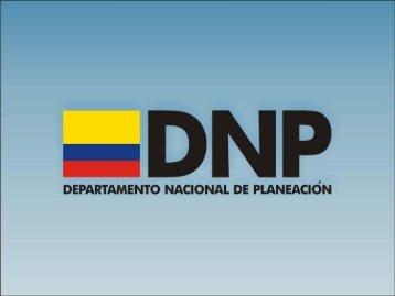 Estrategias transversales y verticales - Departamento Nacional de ...