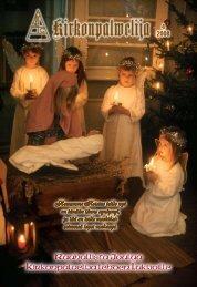 Rauhallista Joulua Kirkonpalvelija lehden lukijoille - Kirkonpalvelijat ry