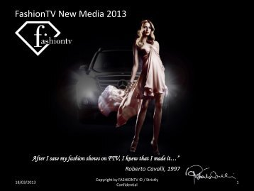 Download PDF - FashionTV Corporate website