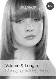 Volume&Length; manual 2006_NL.indd - Balmain Hair