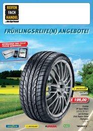 FRÃœHLINGSREIFE(N) ANGEBOTE! - Kompter Reifen + Autoservice