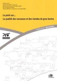 La qualité des carcasses - Eurocarne