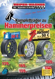 185/65 R 15 ab 49 - Reifen Wagner