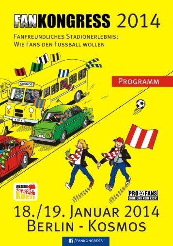 Programm Fankongress 2014 (PDF – 3,3MB)