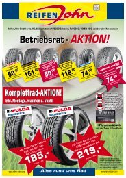Betriebsrat -AKTION! - Reifen John