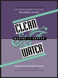 Best Management Practices for Dental Offices - Bureau of Sanitation