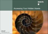 Accessing Your Hidden Assets - Actuarial Society of Hong Kong