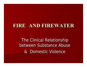 FIRE AND FIREWATER - Mattie Rhodes Center
