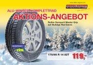 ALU-WINTER-KOMPLETTRAD AKTIONS-ANGEBOT Reifen Pirelli ...