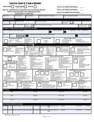 Florida Crash Report HSMV-90010S, Rev. 10/2010 - NHTSA