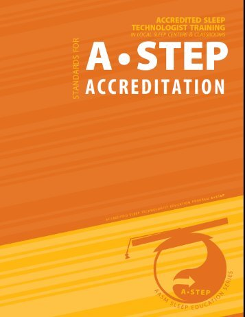 ACCREDITATION - American Academy of Sleep Medicine