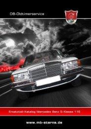 Ersatzteilkatalog Baureihe 116 - Oldtimer Ersatzteile für Mercedes ...