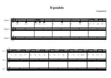 Il Pendolo - La Teca Didattica