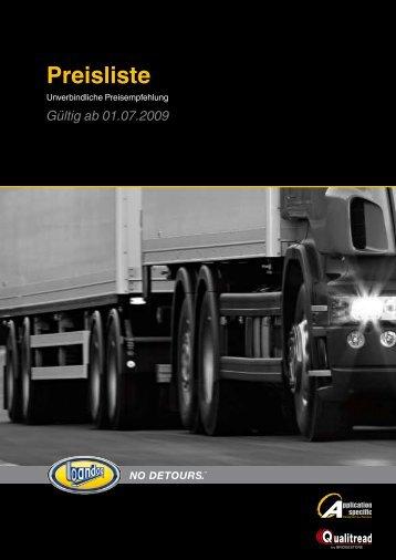 jetzt Bandag-Preisliste downloaden - REIFF Reifen und Autotechnik