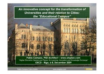 Educational Campus - Higher Education Spaces and Places