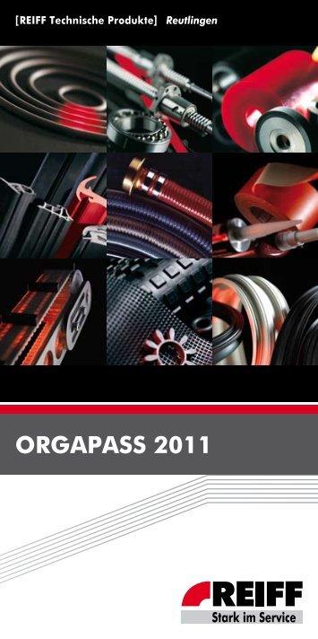 ORGa Pa SS 2011 - REIFF Technische Produkte