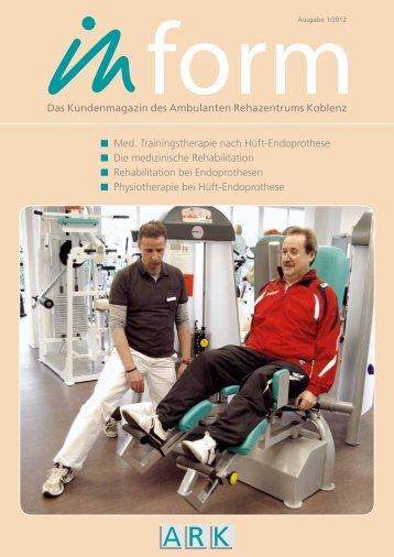 Medizinische Trainingstherapie nach Hüft-Endoprothese