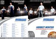 Herbst-Winter Aktionspreise 2012/13 Katalog ... - Reifen Feneberg AG