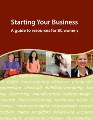 Starting Your Business: A Guide to Resources for BC ... - Summerland