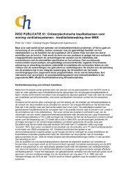 ISSO PUBLICATIE 61 - Cauberg-Huygen Raadgevende Ingenieurs ...