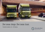 Der neue Atego. Der neue Axor. - Mercedes-Benz Deutschland