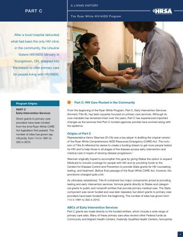 Download a PDF of this Essay - HRSA HIV/AIDS Programs