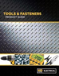 Tools & FasTeners - HD Supply