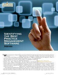 Identifying the Best Practice Management Software - Lawyers