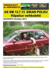 JULKAISTU: Kesäkuu 2013 - Autoliitto