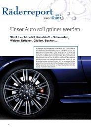 Unser Auto soll grüner werden - Reifenpresse.de
