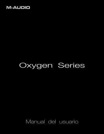 Oxygen series manual - M-Audio